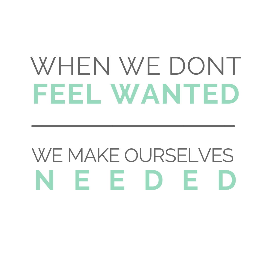 Are You Meeting Your Own Needs?